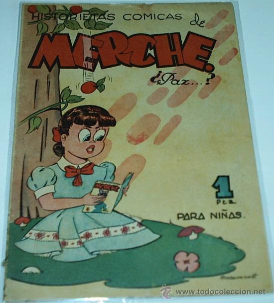MERCHE Nº 25 - ORIGINAL - MARCO 1950 -LEER DESCRIP Y ENVIOS (Tebeos y Comics - Marco - Otros)