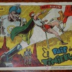Tebeos: RED DIXON, 1ª EPOCA, Nº 15, EL PAIS DE LAS TINIEBLAS, TAL COMO SE VE EN LAS FOTOS PUESTAS.. Lote 31964377