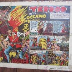 Tebeos: COLECCION GIGANTE , NUMERO 1 - TERROR EN EL OCEANO - EDITORIAL MARCO 1954 , MUY DIFICIL. Lote 32360869