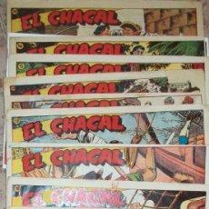Tebeos: EL CHACAL (MARCO) 17 EJ (FALTAN-17 18 20) (LOTE). Lote 32995348