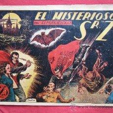 Tebeos: EL MURCIELAGO , NUMERO 3 , EL MISTERIOSO SR Z - BOIXCAR , EDITORIAL MARCO 1943. Lote 33061664