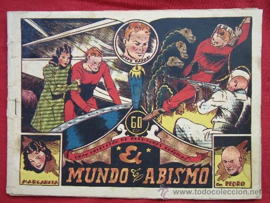 JAIME BAZAN , NUMERON 8 , EL MUNDO DEL AVISMO , 1940 EDITORIAL MARCO (Tebeos y Comics - Marco - Otros)