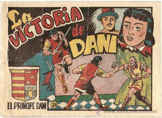 EL PRINCIPE DANI Nº 28 ULTIMO NUMERO (ORIGINAL ) EDITORIAL MARCO (Tebeos y Comics - Marco - Otros)