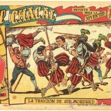 Tebeos: EL CHACAL Nº 7 EDI. MARCO 1959 DIBUJO MARTINEZ OSETE - ORIGINAL. Lote 33884243
