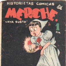 Tebeos: HISTORIETAS COMICAS DE MERCHE Nº 43 EDI MARCO 1950,DIBUJO BEAUMONT,JULIO VIVAS ,J.RIZO ETC, ORIGINAL. Lote 33885439
