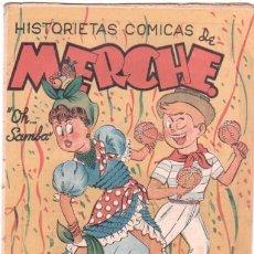 Tebeos: HISTORIETAS COMICAS DE MERCHE Nº 32 EDI MARCO 1950,DIBUJO BEAUMONT,JULIO VIVAS ,J.RIZO ETC, ORIGINAL. Lote 33885492
