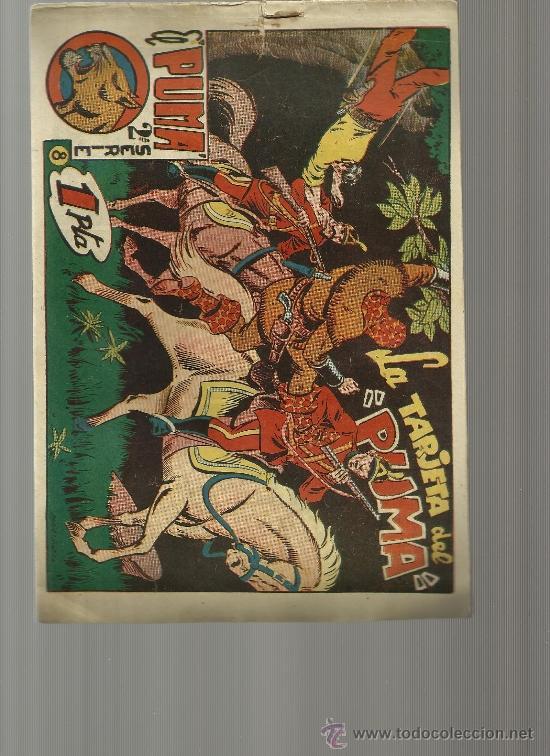 EL PUMA 2ª SERIE Nº 8 (Tebeos y Comics - Marco - Otros)