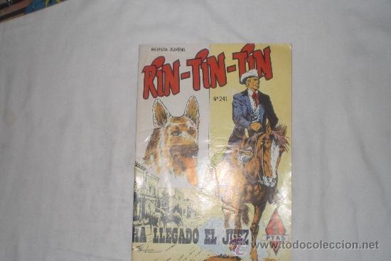 RIN-TIN-TIN Nº 241 (Tebeos y Comics - Marco - Rin-Tin-Tin)