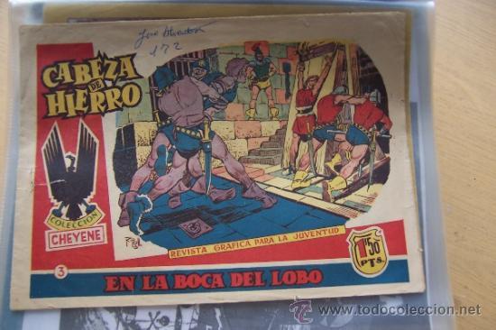 MARCO CABEZA DE HIERRO Nº 3 SERIE CHEYENE (Tebeos y Comics - Marco - Otros)