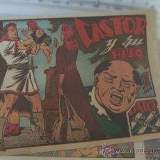 Tebeos: MARCO CASTOR EL INVENCIBLE Nº 23 CASTOR Y SU HIJO. Lote 34262627
