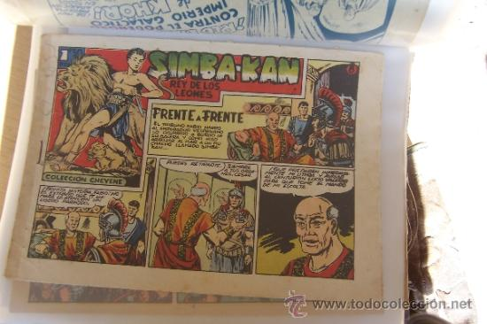 MARCO SIMBA-KAN Nº 8 - 40 Y 57 SERIE CHEYENE (Tebeos y Comics - Marco - Otros)