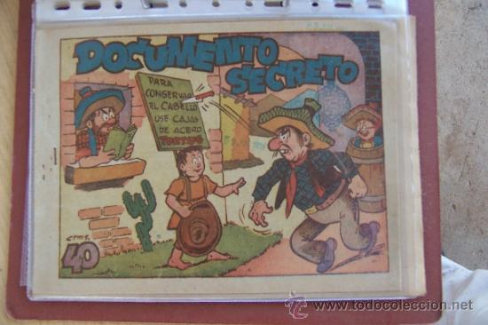MARCO PINGO - TONGO Y PILONGO Nº DOCUMENTO SECRETO Y 7 Nº MAS (Tebeos y Comics - Marco - Otros)