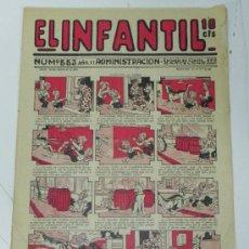 Tebeos: EL INFANTIL Nº 553, MUY RARO, ED. MARCO, POSIBLEMENTE AÑOS 20. Lote 35171016