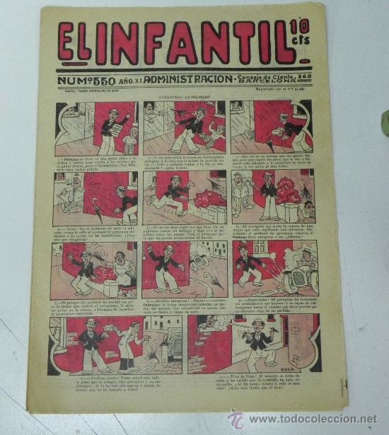EL INFANTIL Nº 550, MUY RARO, ED. MARCO, POSIBLEMENTE AÑOS 20 (Tebeos y Comics - Marco - Otros)
