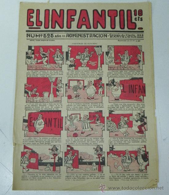 EL INFANTIL Nº 525, MUY RARO, ED. MARCO, POSIBLEMENTE AÑOS 20 (Tebeos y Comics - Marco - Otros)