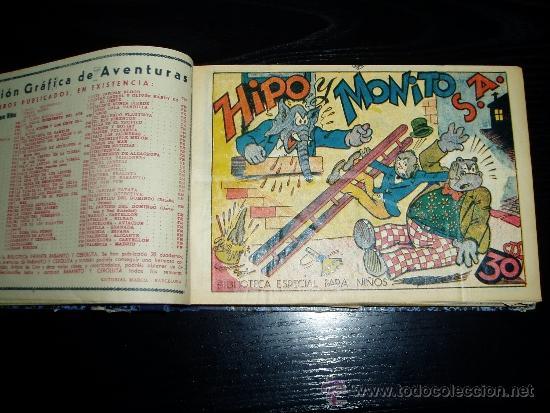 Tebeos: LOTE DE 54 NÚMEROS ENCUADERNADOS. BIBLIOTECA ESPECIAL PARA NIÑOS. ORIGINALES. 30 CTS - Foto 4 - 35228615
