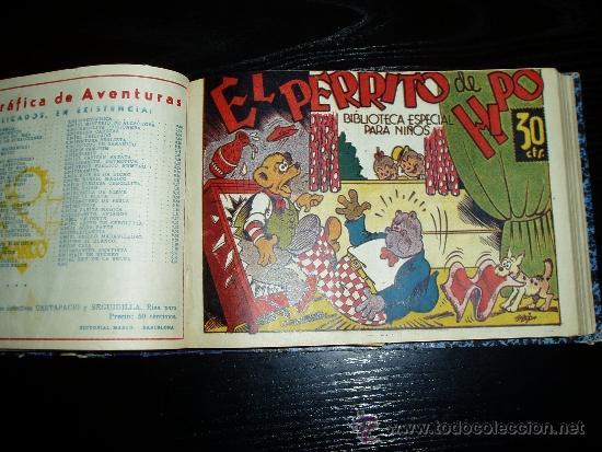 Tebeos: LOTE DE 54 NÚMEROS ENCUADERNADOS. BIBLIOTECA ESPECIAL PARA NIÑOS. ORIGINALES. 30 CTS - Foto 9 - 35228615