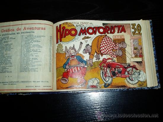 Tebeos: LOTE DE 54 NÚMEROS ENCUADERNADOS. BIBLIOTECA ESPECIAL PARA NIÑOS. ORIGINALES. 30 CTS - Foto 12 - 35228615