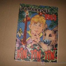Livros de Banda Desenhada: RIN-TIN-TIN ALMANAQUE 1963, EDITORIAL MARCO. Lote 35462671