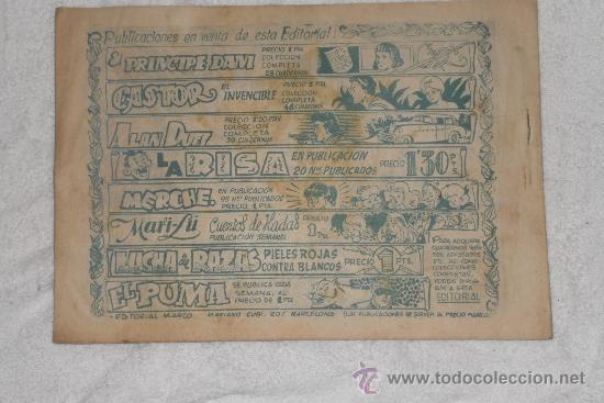 Tebeos: RED DIXON Nº 25 PRIMERA SERIE - Foto 2 - 35642462
