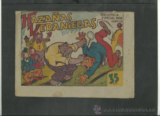 HIPO. HAZAÑAS VERANIEGAS. MARCO. 35 CTS. ORIGINAL. (Tebeos y Comics - Marco - Hipo (Biblioteca especial))