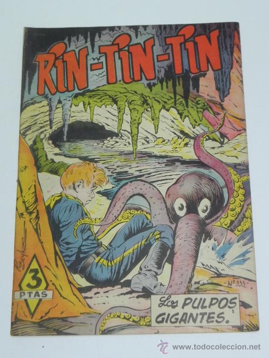RIN TIN TIN Nº 111 BEYLOC, BONO, MARTÍNEZ OSETE. EDITORIAL MARCO 1958. (Tebeos y Comics - Marco - Rin-Tin-Tin)