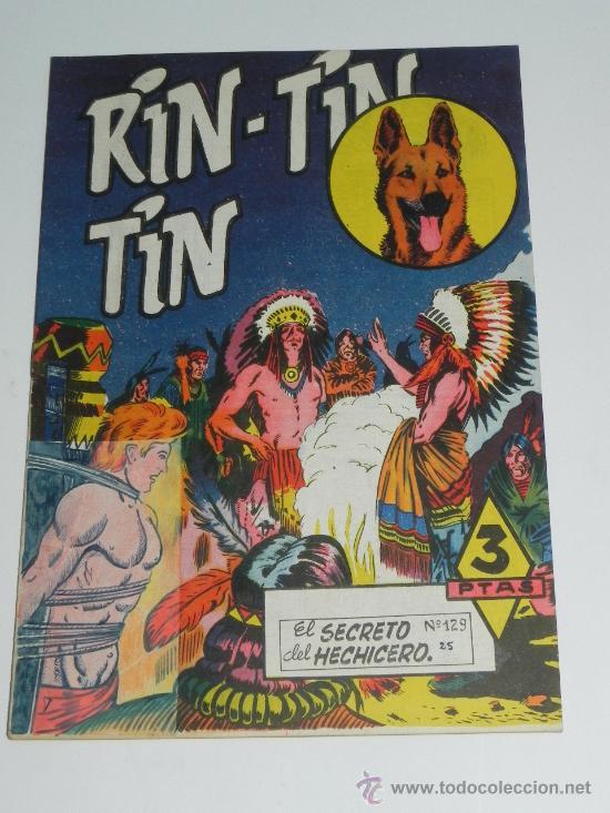 RIN TIN TIN Nº 129 - BEYLOC, CASTILLO, FRANCO CAPRIOLI, BONO, MARTÍNEZ OSETE. EDITORIAL MARCO 1958 (Tebeos y Comics - Marco - Rin-Tin-Tin)