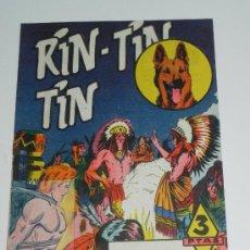 Comics - RIN TIN TIN Nº 129 - BEYLOC, CASTILLO, FRANCO CAPRIOLI, BONO, MARTÍNEZ OSETE. EDITORIAL MARCO 1958 - 36603247