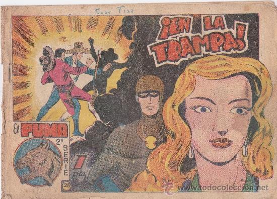 PUMA,2ª SERIE Nº28 (Tebeos y Comics - Marco - Otros)