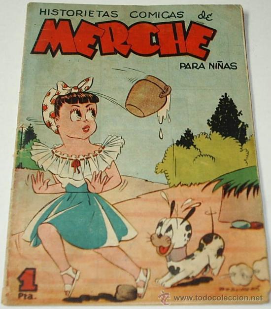 MERCHE Nº 16 ORIGINAL - MARCO 1950- LEER ENVIOS (Tebeos y Comics - Marco - Otros)