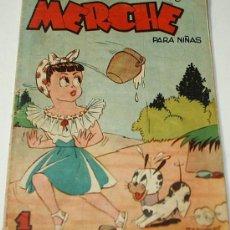 Tebeos: MERCHE Nº 16 ORIGINAL - MARCO 1950- LEER. Lote 37004260