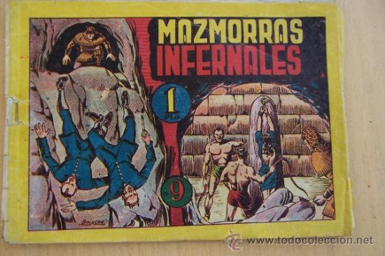 MARCO LOTE DEL PUMA DE BOIXCAR Nº 1- 9 - 11 - 12-16 Y EL 5 SIN CONTRAPORTADA (Tebeos y Comics - Marco - Otros)