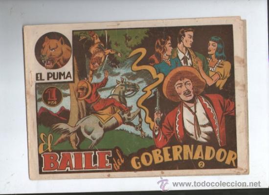 EL PUMA 1ª SERIE Nº 2.EL BAILE DEL GOBERNADOR (Tebeos y Comics - Marco - Otros)