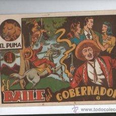 Tebeos: EL PUMA 1ª SERIE Nº 2.EL BAILE DEL GOBERNADOR. Lote 37766661
