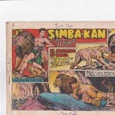 Tebeos: SIMBA KAN REY DE LEONES 1959 ,FALTA EL Nº 1 Y EL 48. Lote 38470174