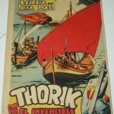 Tebeos: THORIK EL INVENCIBLE Nº 20 - EDIT. MARCO 1959 - ORIGINAL Y ULTIMO. Lote 39017869