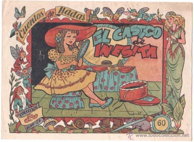 CUENTOS DE HADAS COLECCION MARI-LU - Nº 0 - ORIGINAL EDI. MARCO 1948, EXCELENTE ESTADO (Tebeos y Comics - Marco - Otros)