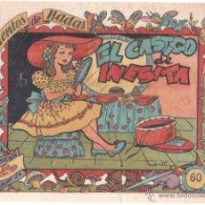 Tebeos: CUENTOS DE HADAS COLECCION MARI-LU - Nº 0 - ORIGINAL EDI. MARCO 1948, EXCELENTE ESTADO. Lote 39673922