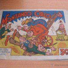 Tebeos: COLECCION ACROBATICA INFANTIL (MONTANDO CIRCO) 30 CTS 1942 (ORIGINAL ED. MARCO) (COI12). Lote 39709904