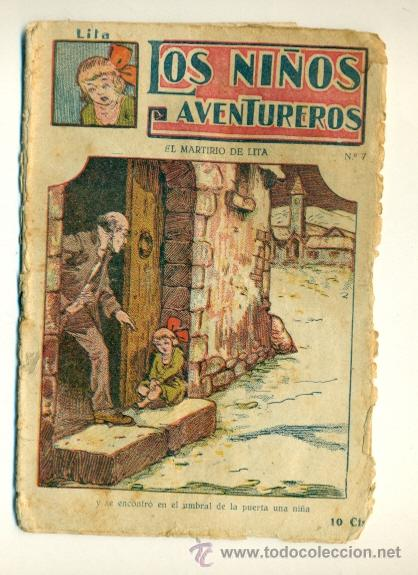 LITA LOS NIÑOS AVENTUREROS Nº 7 - 10 CTS. ED. MARCO (Tebeos y Comics - Marco - Otros)
