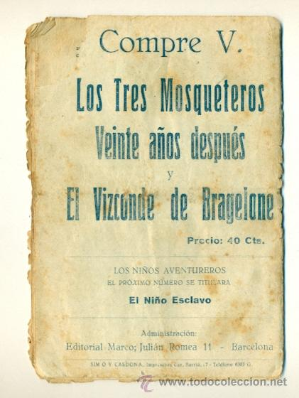 Tebeos: LITA LOS NIÑOS AVENTUREROS Nº 7 - 10 CTS. ED. MARCO - Foto 2 - 39854658
