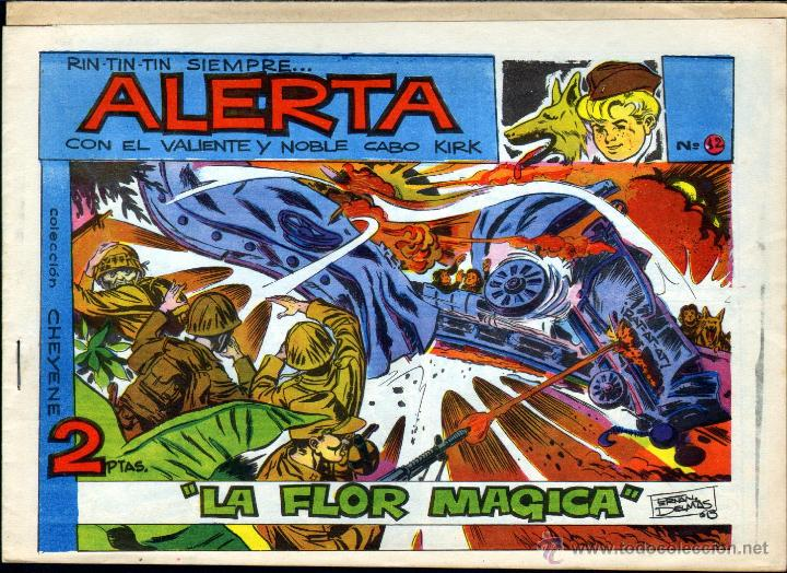 TEBEOS-COMICS GOYO - ALERTA RIN TIN TIN - Nº 12 - AÑO 1959 - ED. MARCO *CC99 (Tebeos y Comics - Marco - Otros)