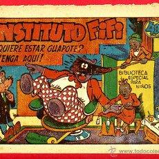 Tebeos: HIPO MONITO Y FIFI , INSTITUTO FIFI , 40 CMS. , MARCO , ORIGINAL . Lote 40771447