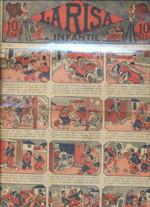 LA RISA INFANTIL Nº 377. EDITORIAL MARCO 1925. (Tebeos y Comics - Marco - La Risa)