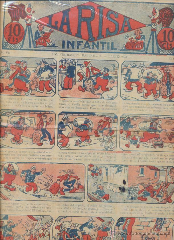 LA RISA INFANTIL Nº 365. EDITORIAL MARCO 1925. (Tebeos y Comics - Marco - La Risa)