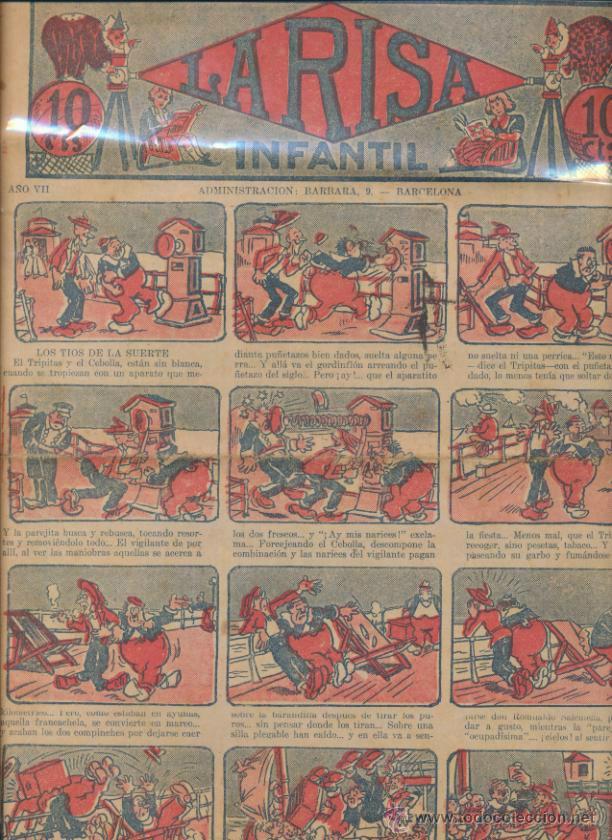 LA RISA INFANTIL Nº 362. EDITORIAL MARCO 1925. (Tebeos y Comics - Marco - La Risa)