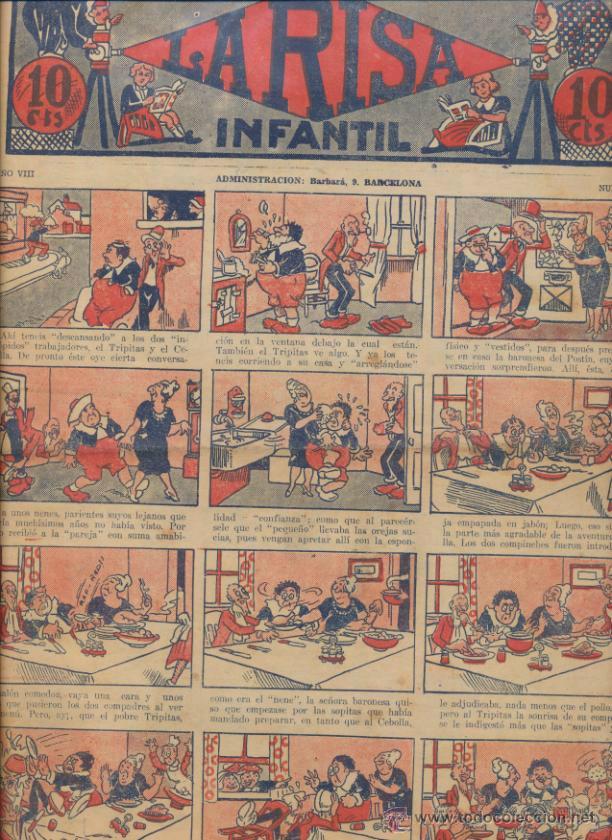 LA RISA INFANTIL Nº 416. EDITORIAL MARCO 1925. (Tebeos y Comics - Marco - La Risa)
