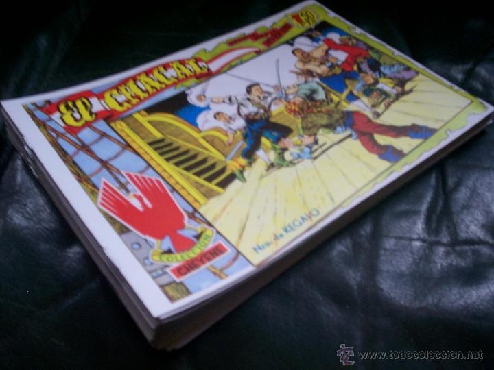 COLECCIÓN COMPLETA TEBEOS/CÓMIC EL CHACAL SUELTOS NUEVOS MARCO Nº 1 AL 20 (Tebeos y Comics - Marco - Otros)