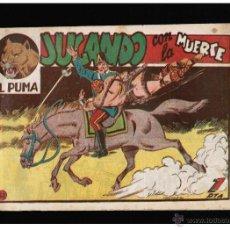 BDs: EL PUMA Nº 52. 1ª SERIE - JUGANDO CON LA MUERTE - EDITORIAL MARCO - ORIGINAL. Lote 41351433