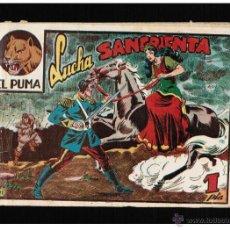 BDs: EL PUMA Nº 21. 1ª SERIE - LUCHA SANGRIENTA - EDITORIAL MARCO - ORIGINAL. Lote 41377649